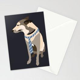 Mojo the Belgian shepherd Stationery Cards