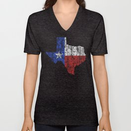 Texas Vintage Unisex V-Neck