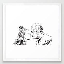 Hongi Framed Art Print