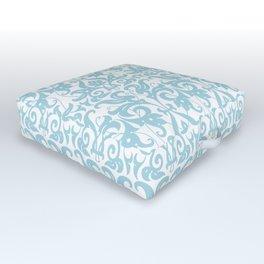 SOFT BLUE PARSLEY Outdoor Floor Cushion
