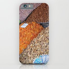 Dry Fruits - Morocco Market iPhone Case