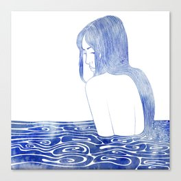 Nereid XL Canvas Print