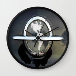1954 Oldsmobile Hood Emblem Wall Clock