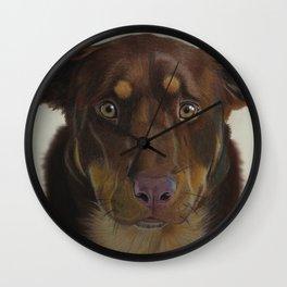 Aussie and Kelpie Wall Clock