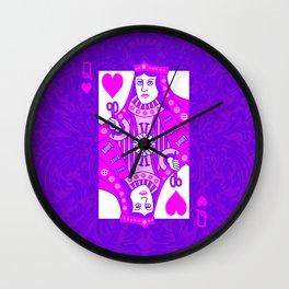 Queen of Crochet Wall Clock