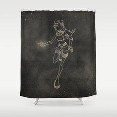 Teen Titans: Starfire Shower Curtain