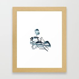 Inverted Boss Framed Art Print