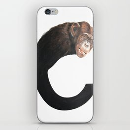 C-Chimpanzee iPhone Skin