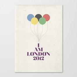 I Am London2012 Canvas Print