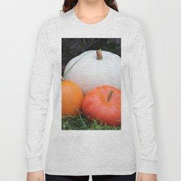 Pumpkin Trio Long Sleeve T-shirt