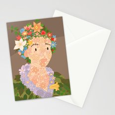 Flora by  Giuseppe Arcimboldo Stationery Cards