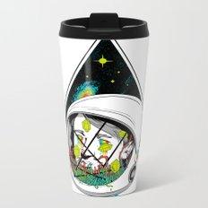 Space Gummies Metal Travel Mug