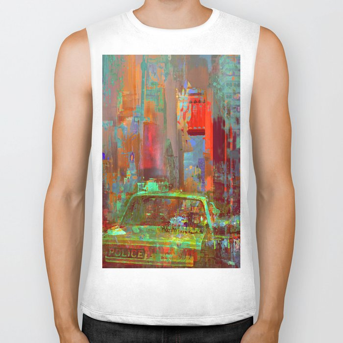 A commonplace day Biker Tank