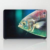 swim iPad Cases featuring Swim by Iain Christopher Mclellan Bastidas