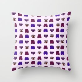 Undies Throw Pillow