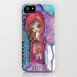 The Hermit - Tarot Inspired Watercolor iPhone Case