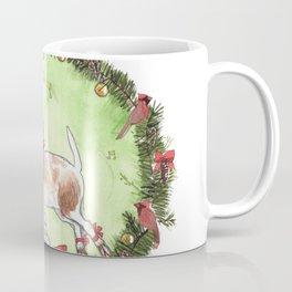 Christmas Goat Coffee Mug