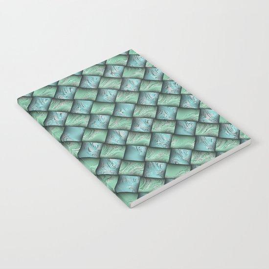 Patchwork Moire Silk Notebook