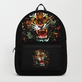 Tiger Roar Splatter Backpack
