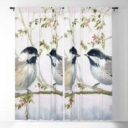 Chickadee Blackout Curtain