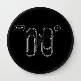 It's a matter of Perspective  Wall Clock