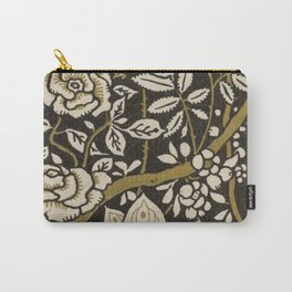 Nouveau Birds And Flowers Carry-All Pouch