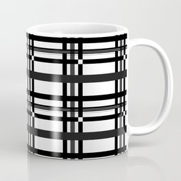 Black n' White plaid Coffee Mug