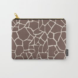 Brown Elephant Carry-All Pouch