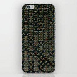 Random Octagonal Pattern  iPhone Skin