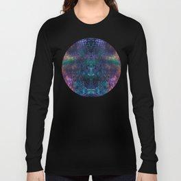 Violet snake skin pattern Long Sleeve T-shirt