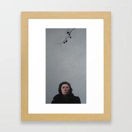 depths of winter Framed Art Print