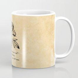 Anne Bronte - Crave the Rose Coffee Mug