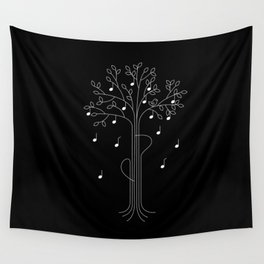 The Musician Wall Tapestry