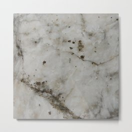 alabaster Metal Print