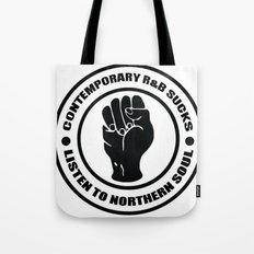 Contemporary R&B Sucks Tote Bag