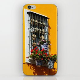 Balconies of Puebla  iPhone Skin