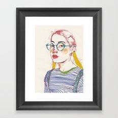 girl6 Framed Art Print