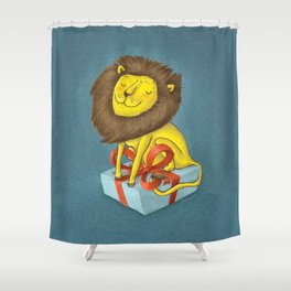 All the lion Shower Curtain