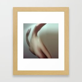 { painted . naked . tainted . luv Framed Art Print