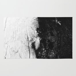Monochromatic Wood Rug