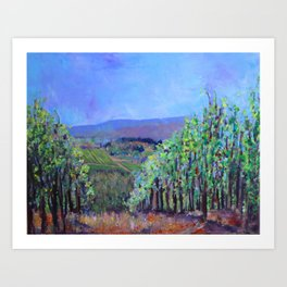 Hillsides of Tuscany Art Print