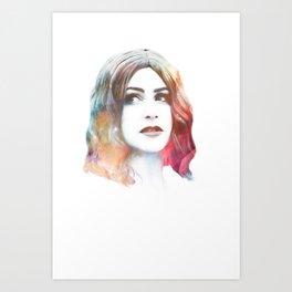 Deity II Art Print