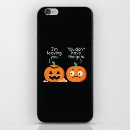 Gourd Riddance iPhone Skin