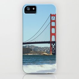 Golden Gate Break iPhone Case