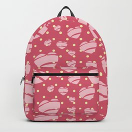 Retro 50's Heart design - by Jezli Pacheco Backpack