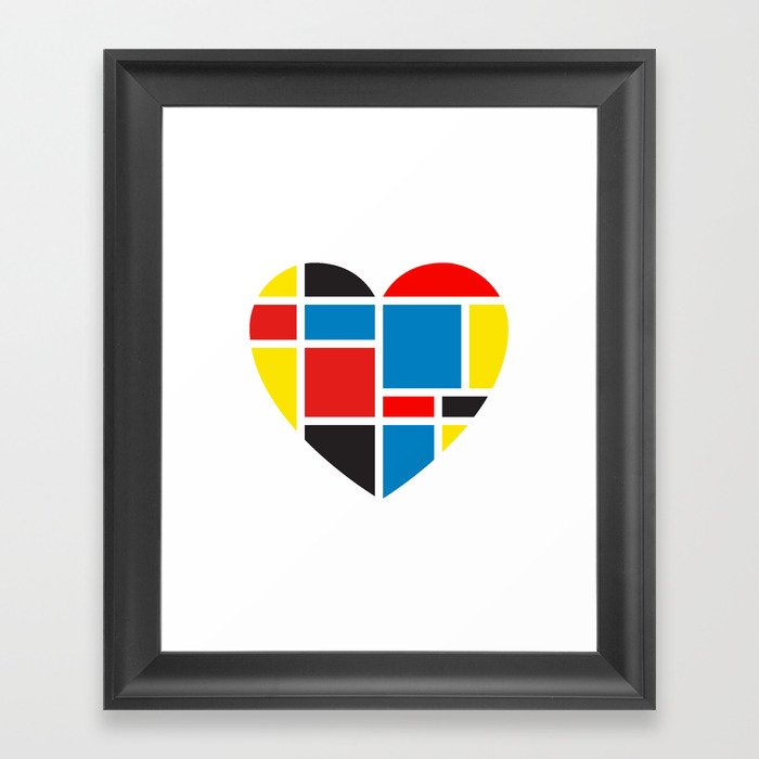 Finding Love II Framed Art Print