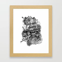 Poetry Framed Art Print