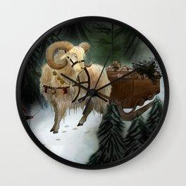 julebukk Wall Clock