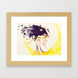 Sailor Luna Framed Art Print