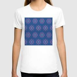 Red Pineapple Snowflakes T-shirt